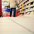 Kaufkraft-Vergleich: Einkauf im Supermarkt