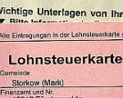 Lohnsteuerkarte 2009
