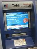 Geldautomat – Information zu Abhebe-Gebühren an Fremdautomaten Pflicht