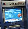Geldautomat - Polizei warnt vor Manipulationen
